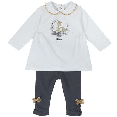 Set maglietta con manica lunga e leggings