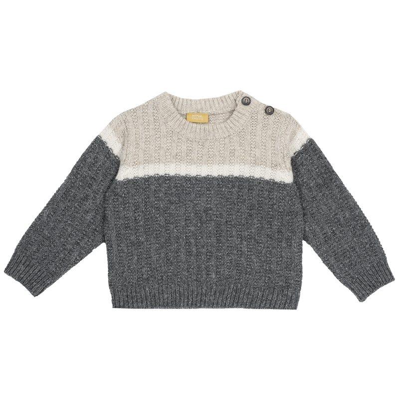 Pullover di tricot con manica lunga 9M