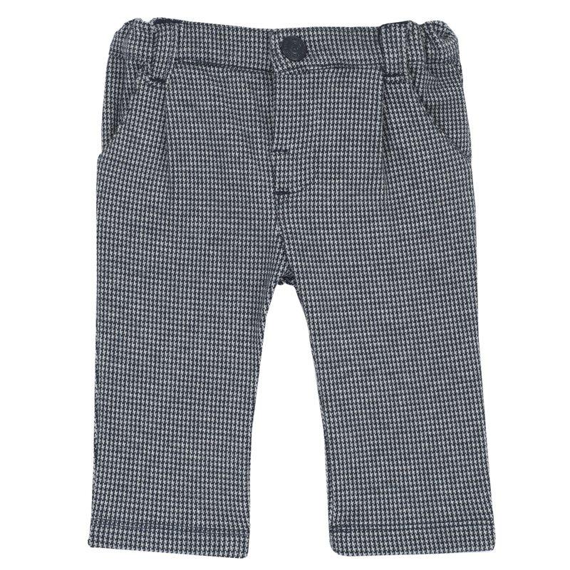 Pantalone di maglia jacquard