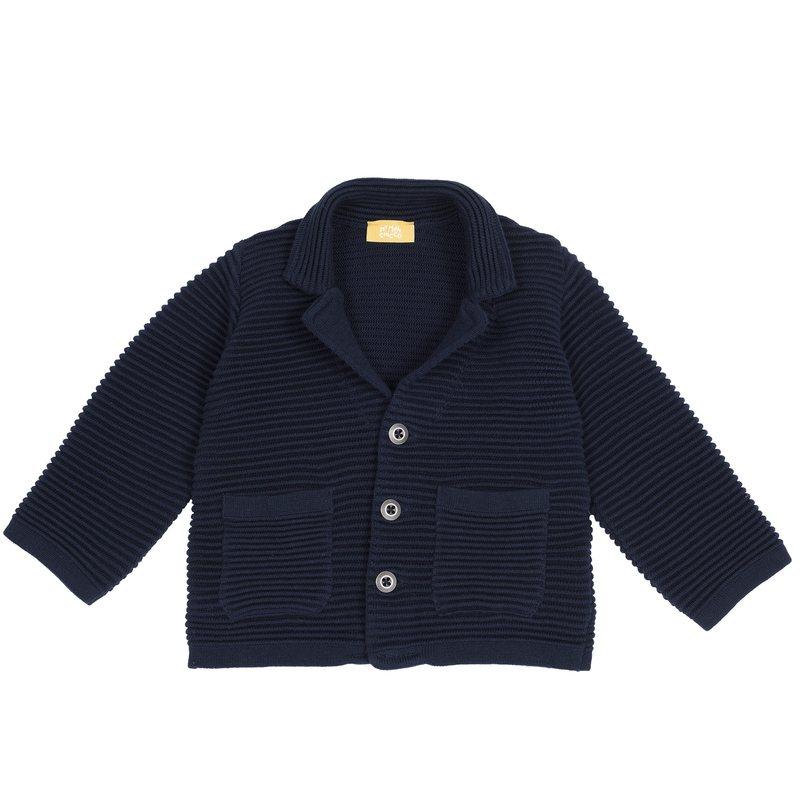Giacca di tricot con tasche