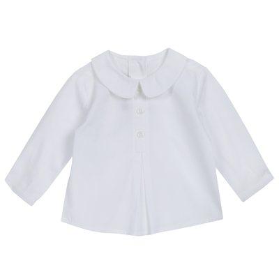 Camicia di cotone popeline