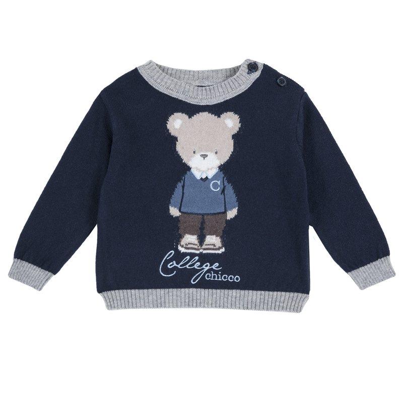 Pullover con orsetto