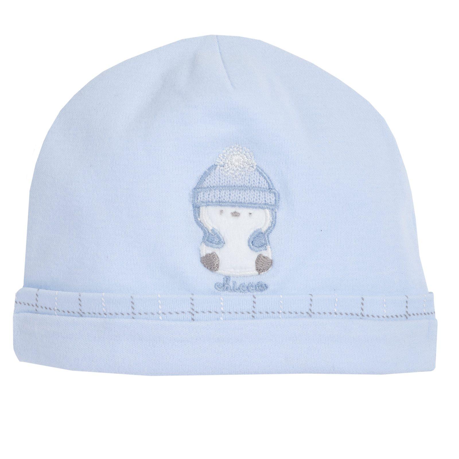on sale a588a af1d4 Cappello con pinguino