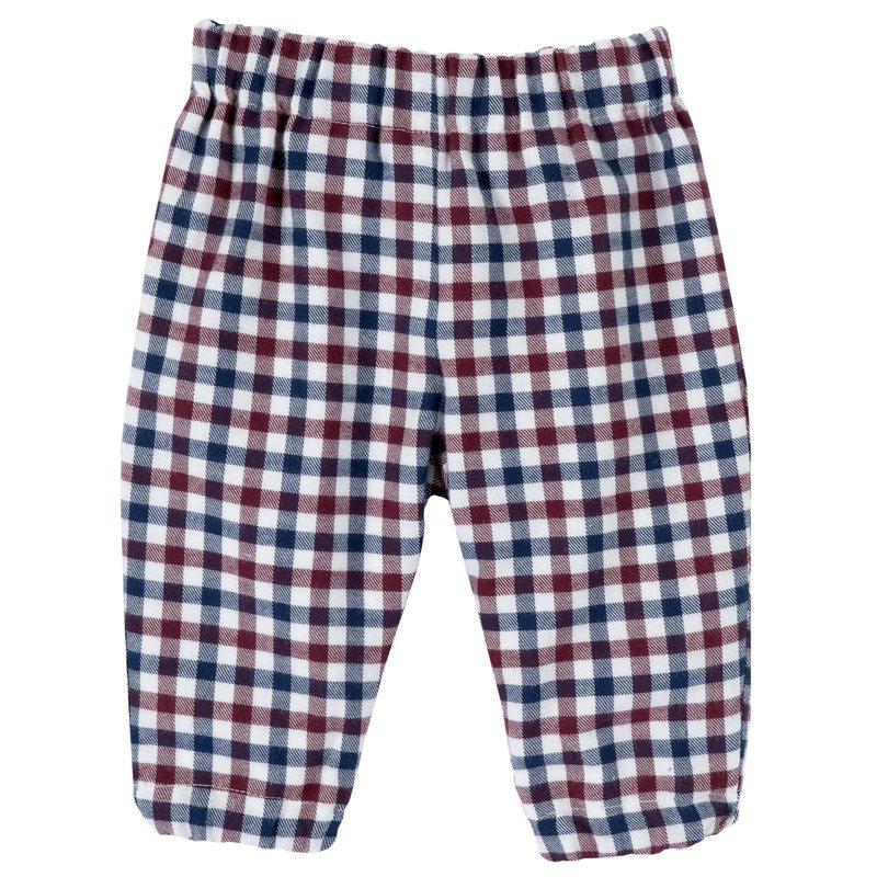 Pantaloni di flanella a quadretti