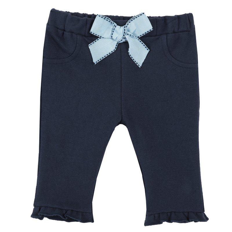 Pantalone di felpa con fiocco