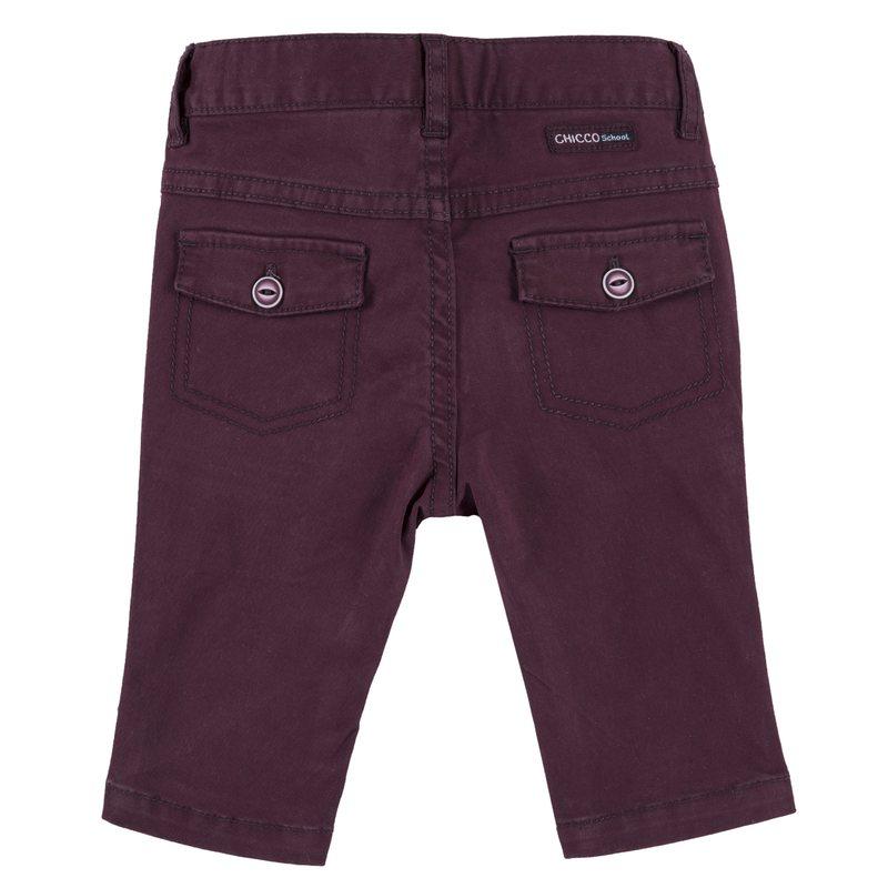 Pantalone lungo twill stretch