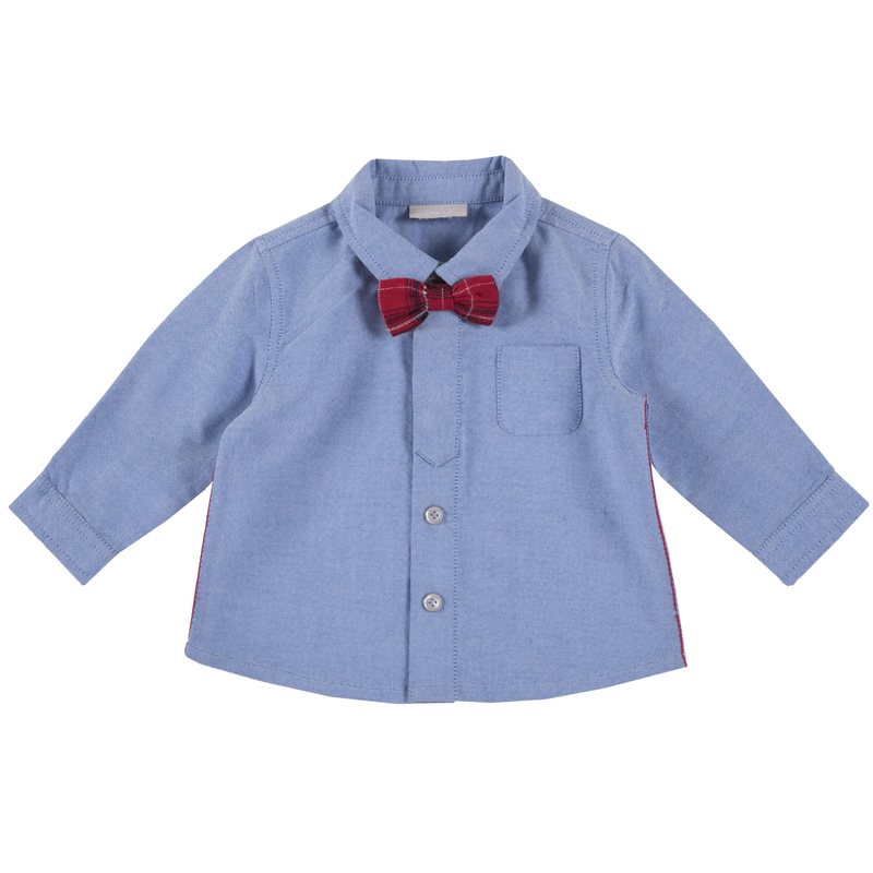 Camicia oxford con papillon