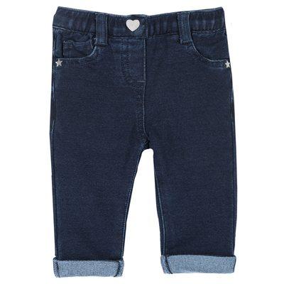 Pantalone con bottone a cuore