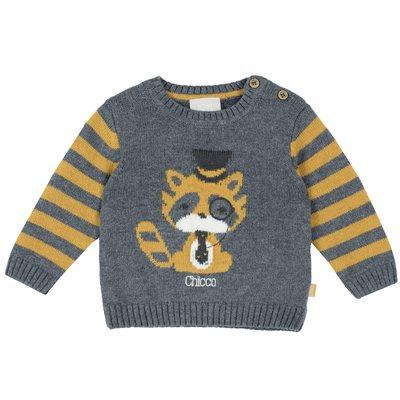 Pullover tricot misto cotone e lana