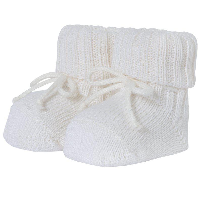 Babbucce di tricot misto lana