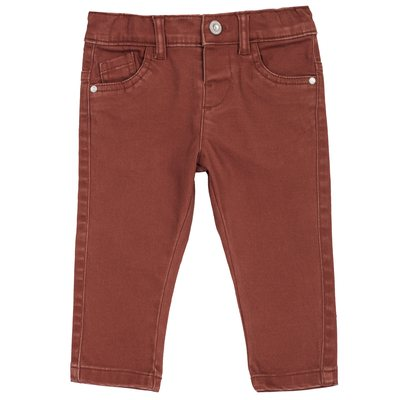 Pantalone lungo di twill stretch