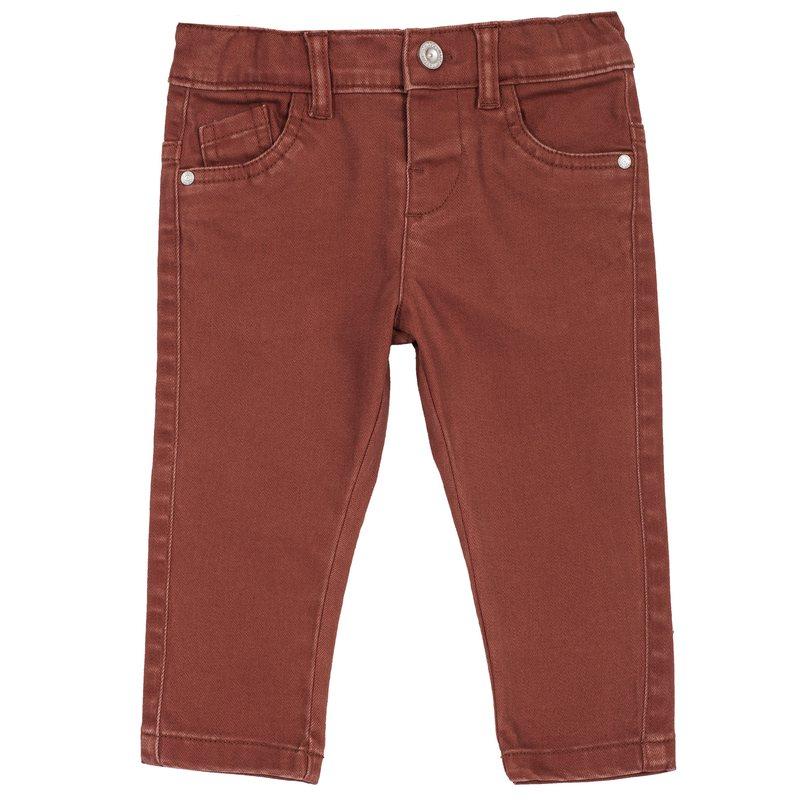 Pantalone lungo di twill stretch 9M