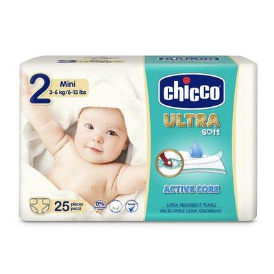 Pannolini Chicco Ultra Soft Mini 3-6 kg taglia 2