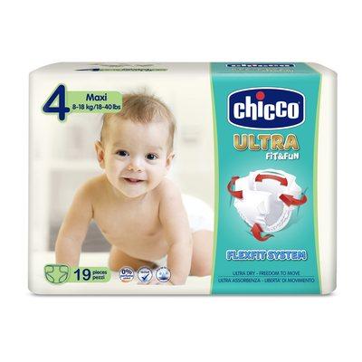 Pannolini Chicco Ultra Soft Maxi 8-18 kg taglia 4