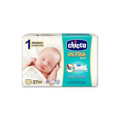 Pannolini Chicco Ultra Soft New Born 2-5 kg taglia1