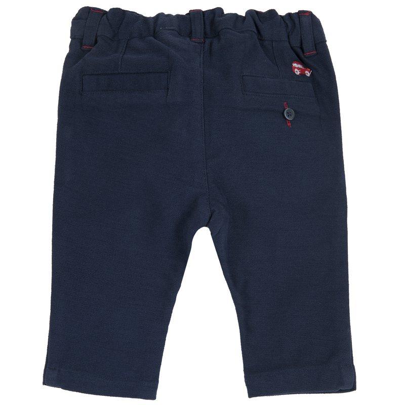 Pantalone di tessuto accoppiato regular fit