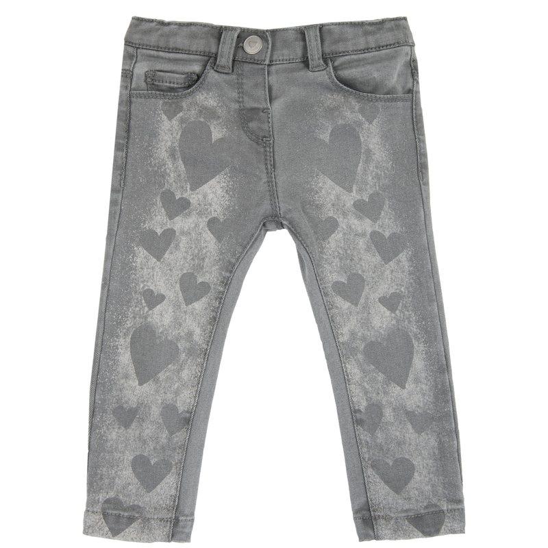 Pantalone con cuori