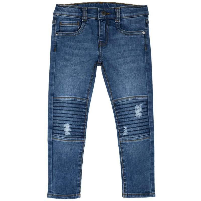 Jeans con cuciture alle ginocchia 2Y
