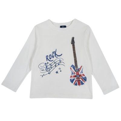 Maglietta con chitarra elettrica - Progetto Piccoli Stilisti Chicco