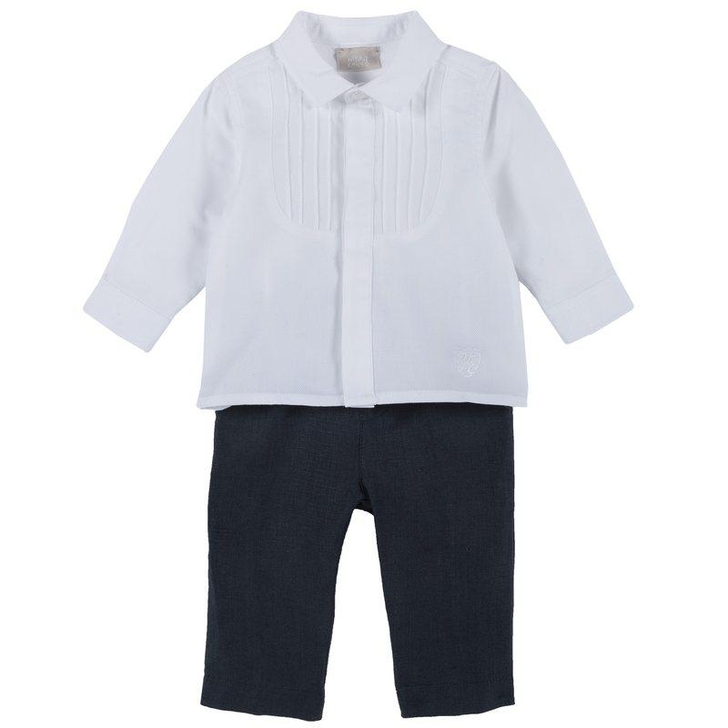 Set camicia e pantalone di lino