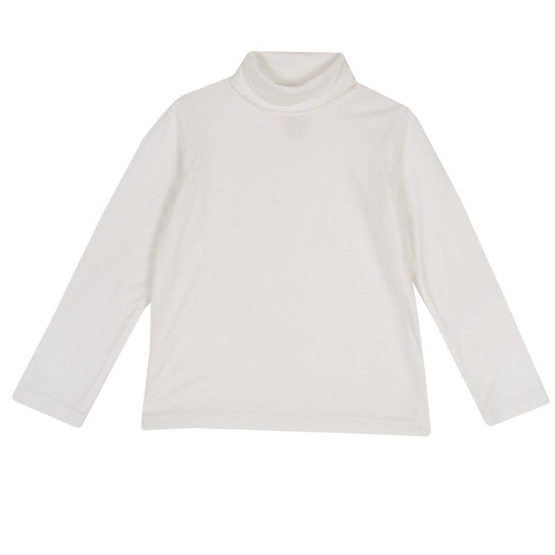 Maglietta di viscosa con colletto alto