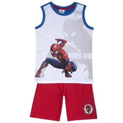 Set canottiera Spider-man con pantaloncini