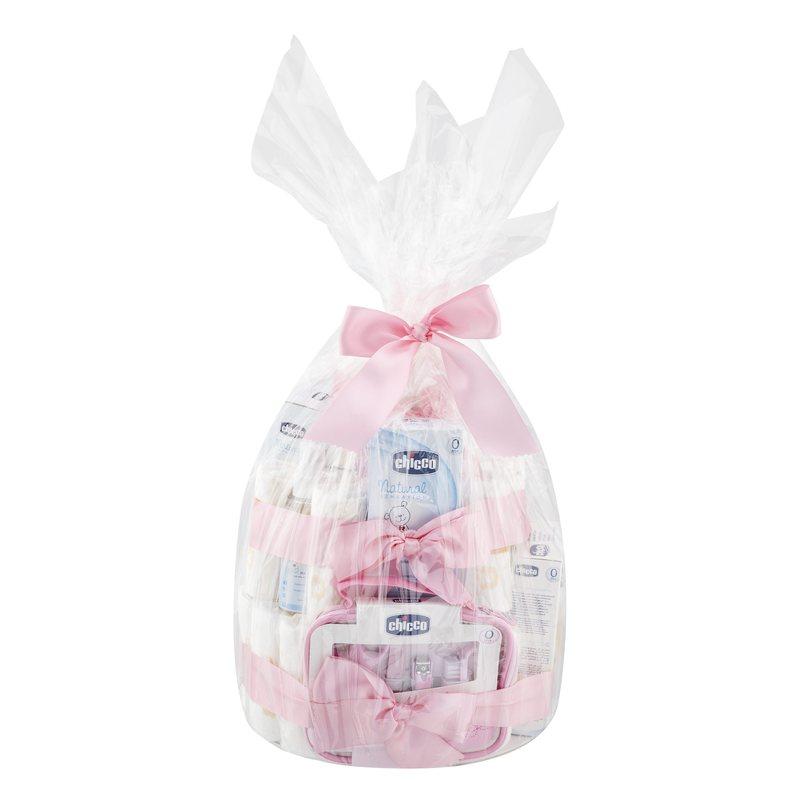 Torta Pannolini Rosa-Premium