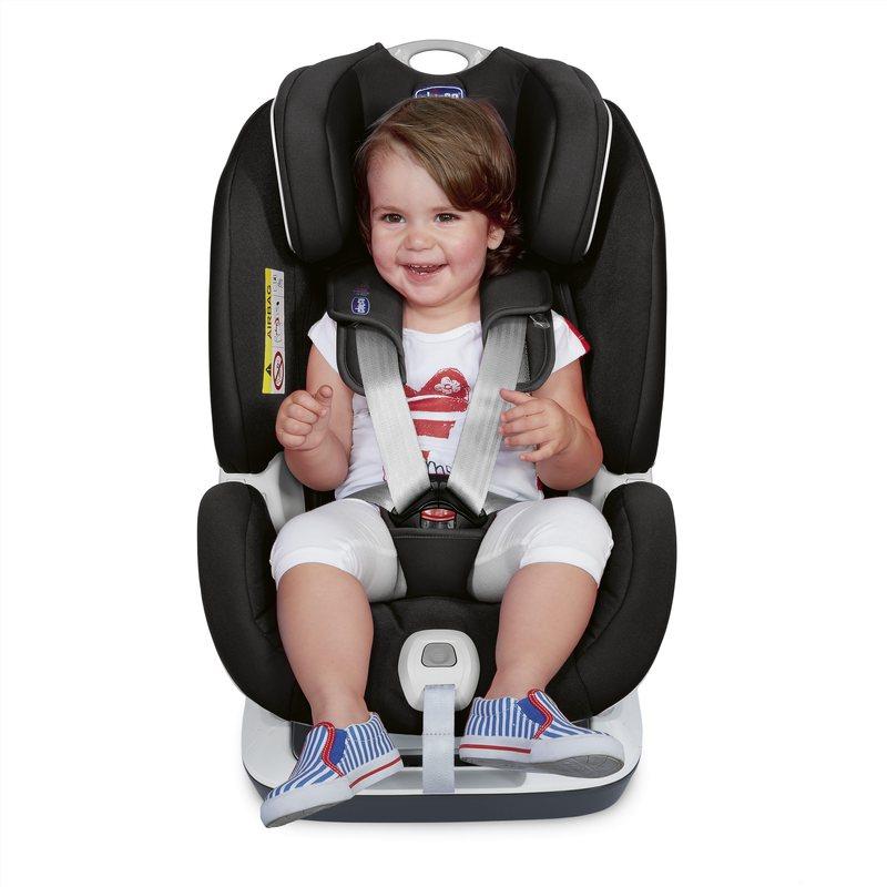 Seggiolino Auto Seat Up 012 Chicco BebèCare Jet Black (Gr.0+/1/2)