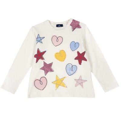Maglietta con cuori e stelline - Progetto Piccoli Stilisti Chicco