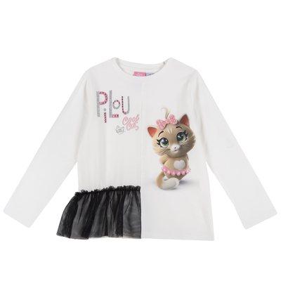 T-shirt con Pilou